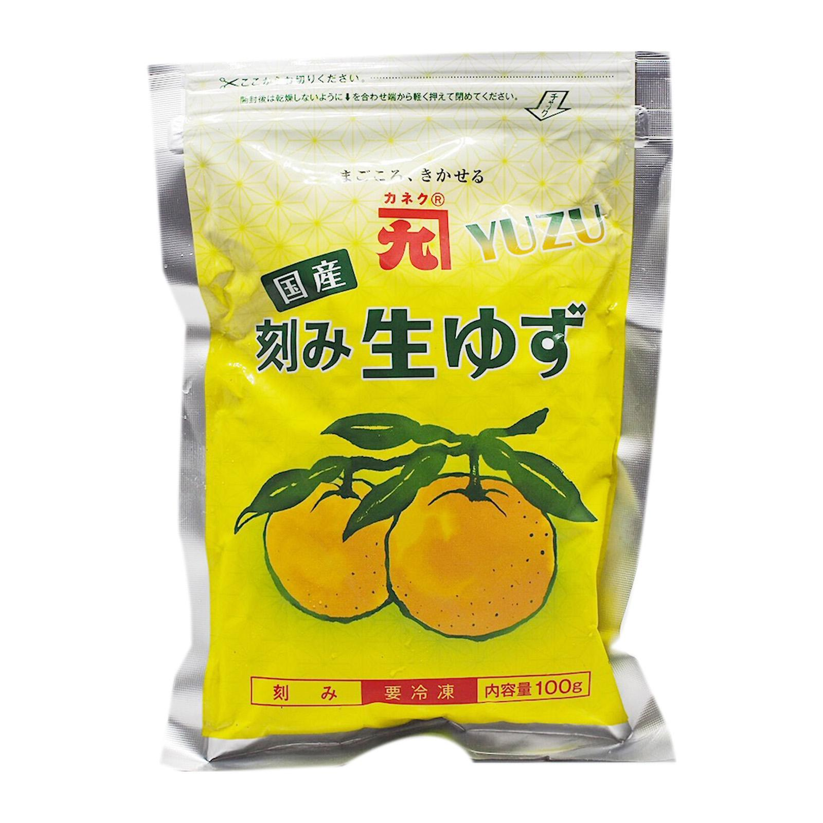Kaneku Kizami Yuzu (frozen Shredded Yuzu Zest) - Frozen By Redmart.