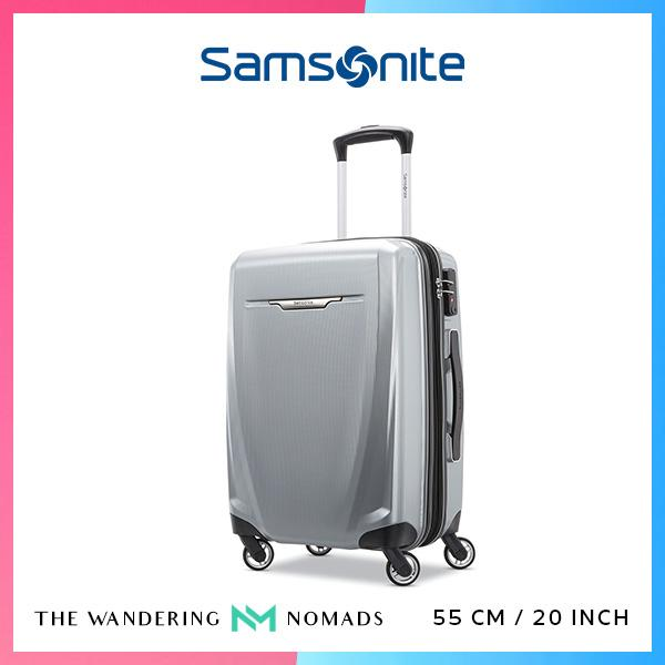 Samsonite Winfield 3 DLX Spinner Luggage 55/20 - Silver