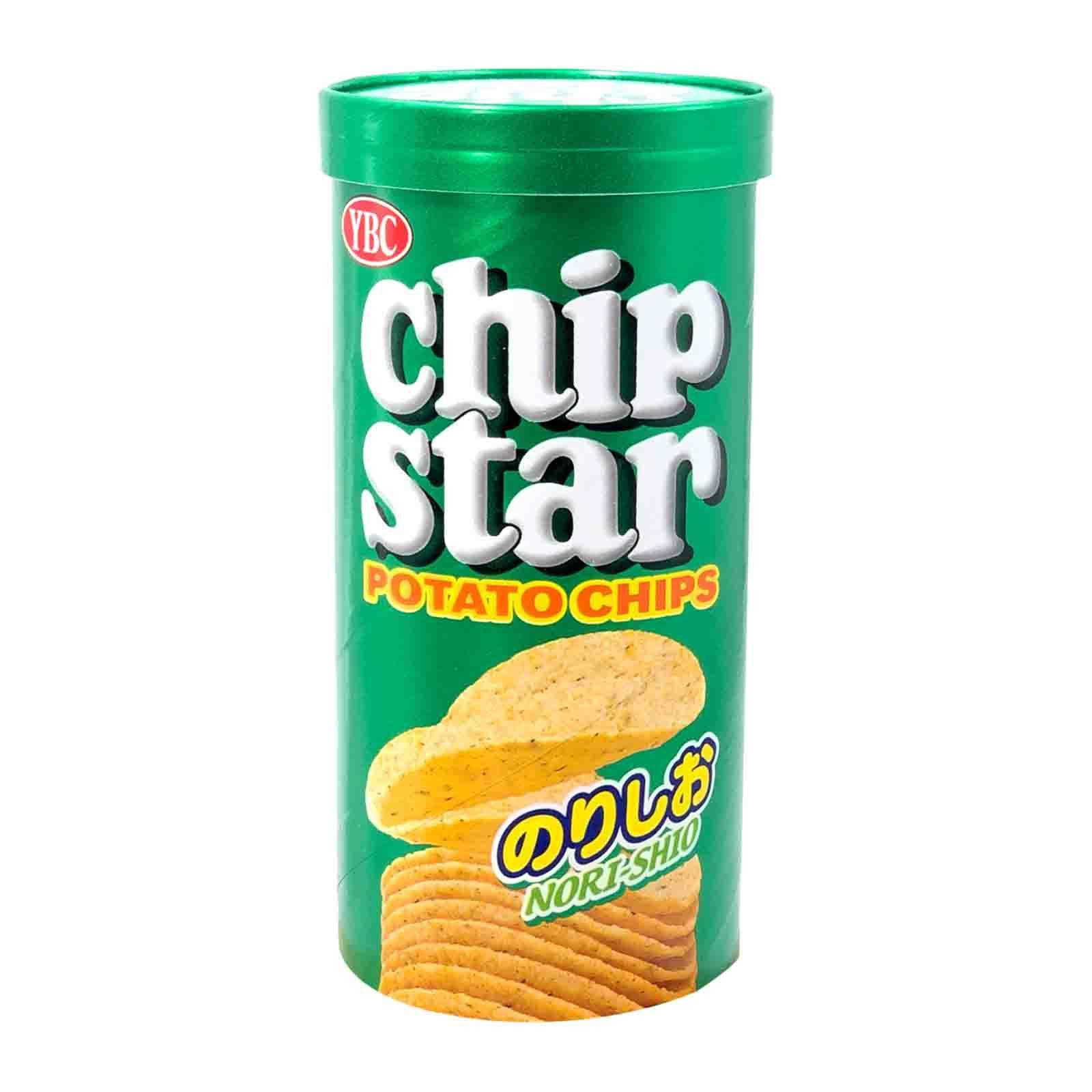YBC Chip Star Salted Seaweed Potato Snack
