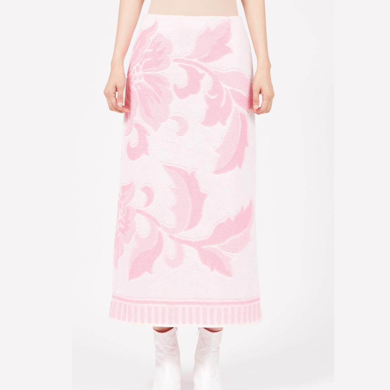【locat】mm6 Maison Margiela France Product 2020 Rose Slit-Back Skirt.