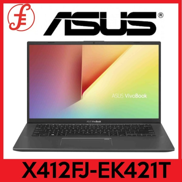 ASUS X412FJ-EK421T 14IN FHD INTEL CORE I5-10210U 8GB DDR4 512GB SSD MX230 WIN 10 FREE WIRELESS BLUETOOTH SPEAKER WHILE STOCKS LAST (X412FJ-EK421T)