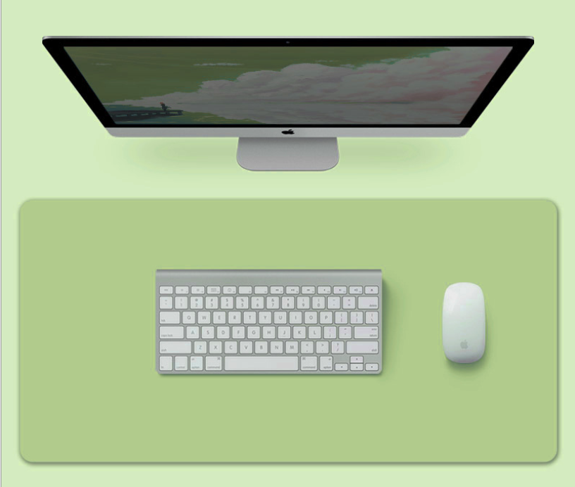 Office Writing Gaming Desk Computer Mat Mousepad Waterproof  Mouse Pad Mat 80cm X 40cm / Desk Mat Mouse Pad Large Placemat for Laptop Computer Desk Mat