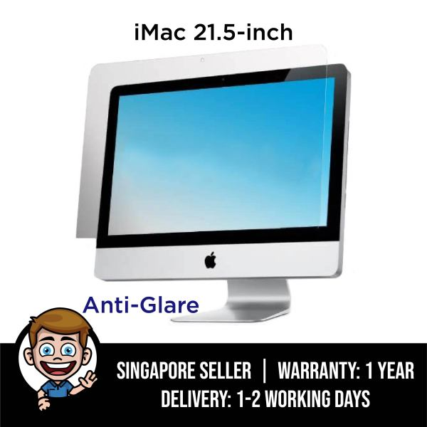 iMac Screen Protector, Anti-Glare Matte Filter for 21.5 inch iMac Desktop Display 21 Model: A2116, A1311, A1418 - Matte