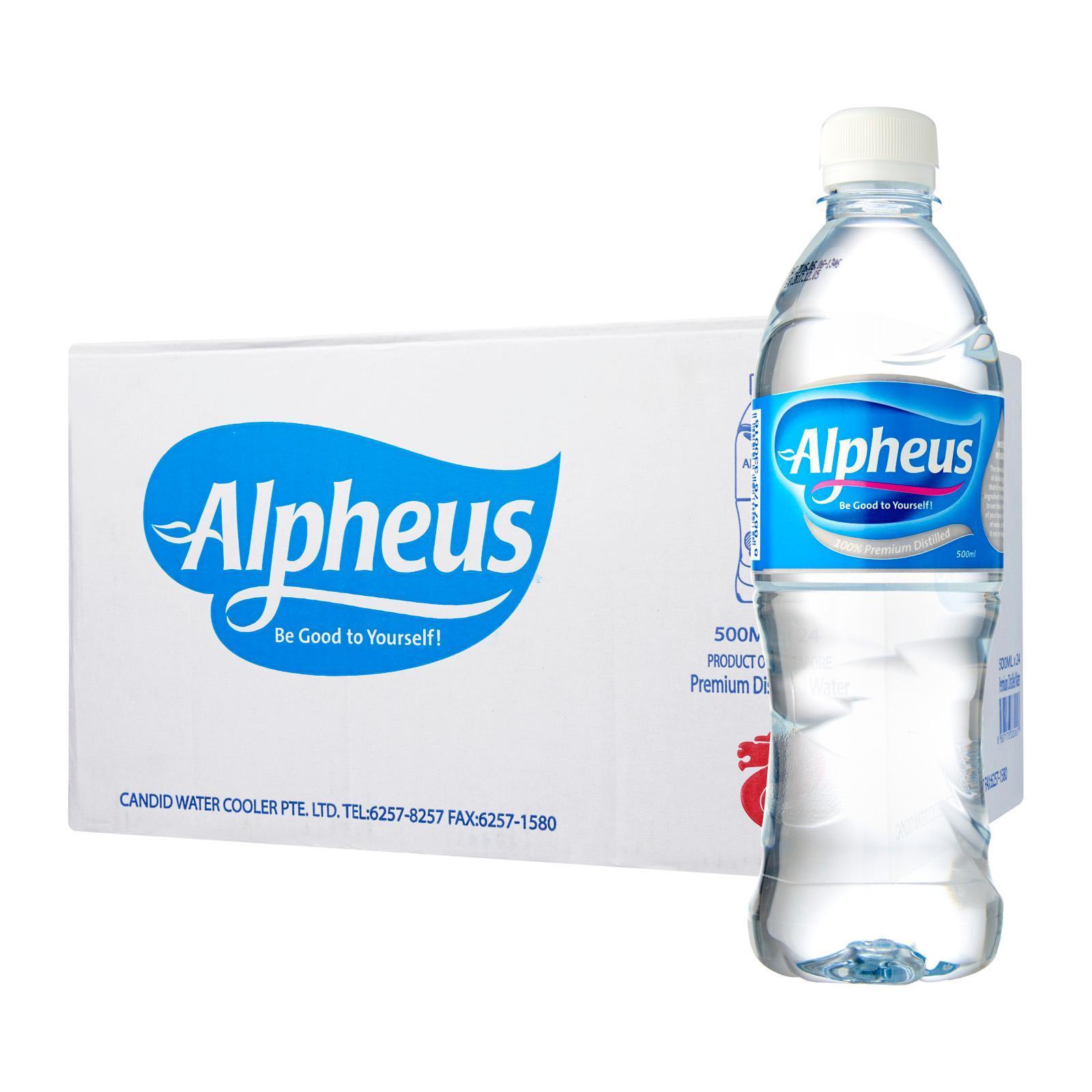 Alpheus Distilled Pure Drinking Water