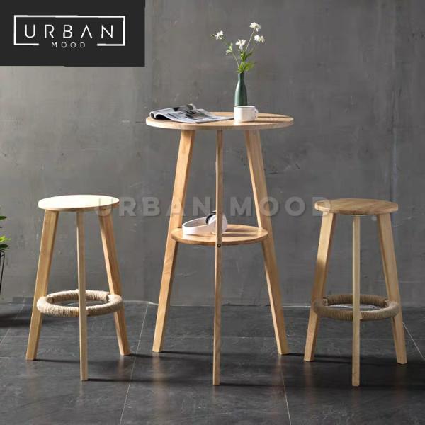 [Pre-Order] DERICK Scandinavian Bar Table & Stools