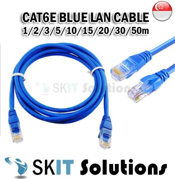 ★ Cat 6 ★ LAN Ethernet Networking Round Cable for Internet Modem/Router/Printer/Laptop 1/2/3/5/10/15m