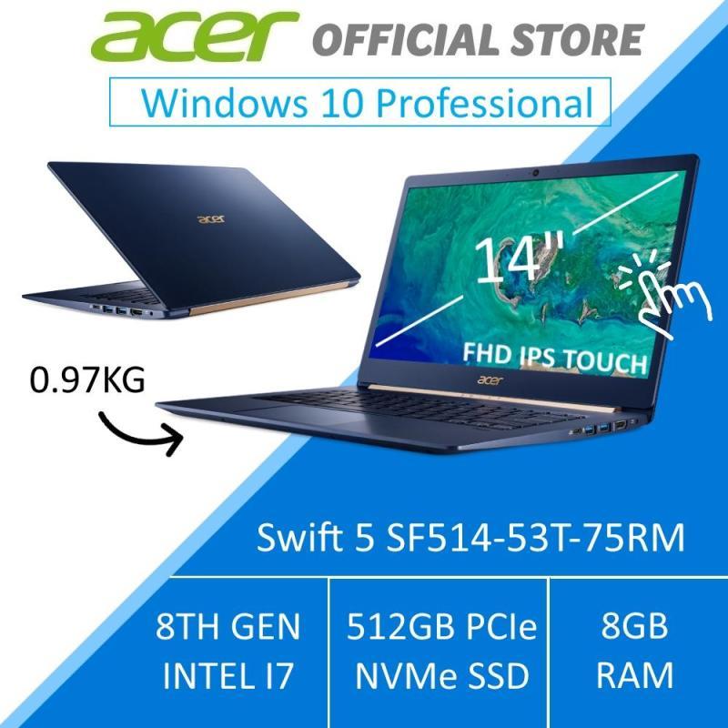 Acer Swift 5 SF514-53T-75RM 14-Inch Intel i7 Lightweight Laptop (BLUE)  - Windows 10 Pro