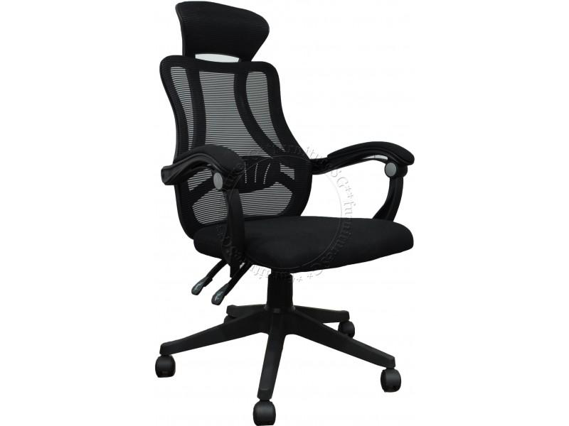 (Free Installation/Local Seller Warranty) Ergonomic Mesh Office Chair Swivel Chair/Tilt/Lumbar Support