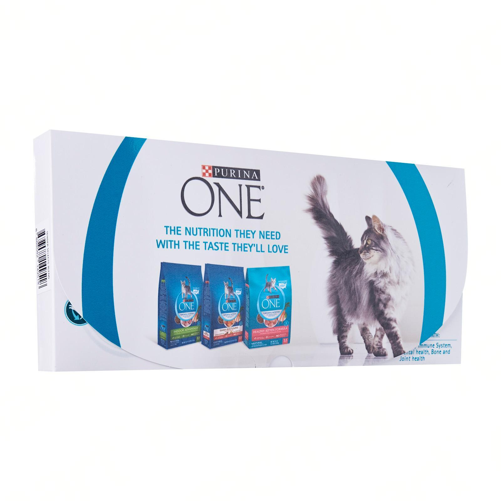 Purina One Tender Selects Blend With Real Salmon SAMPLE