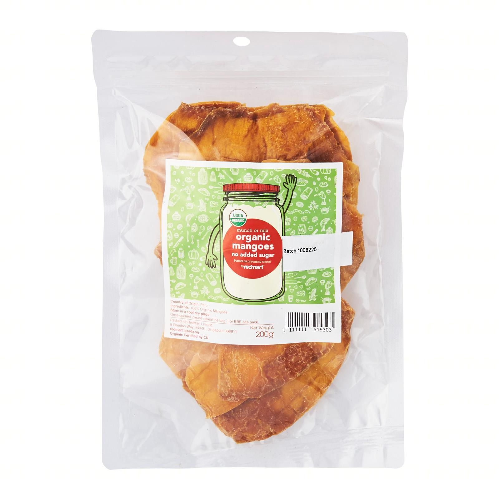 RedMart Organic Mango - No Added Sugar Dried Fruit