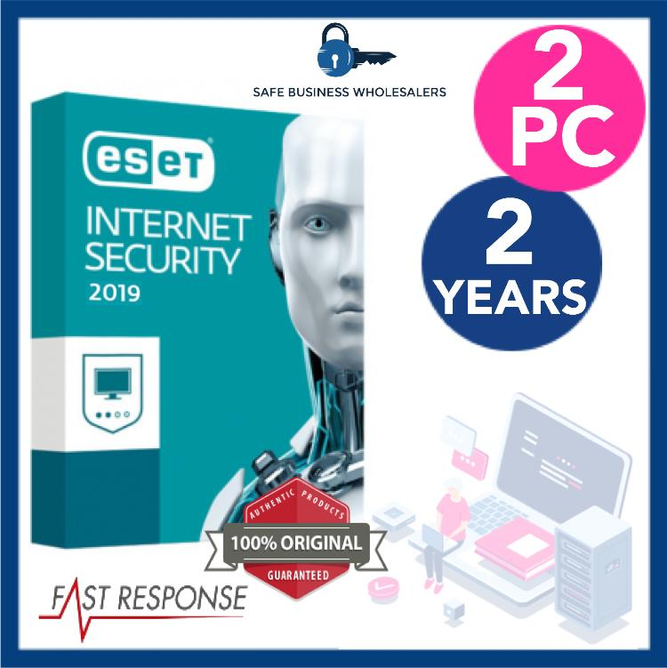 ESET INTERNET SECURITY 2019 VERSION 11/12- 2 DEVICES, 2 YEARS