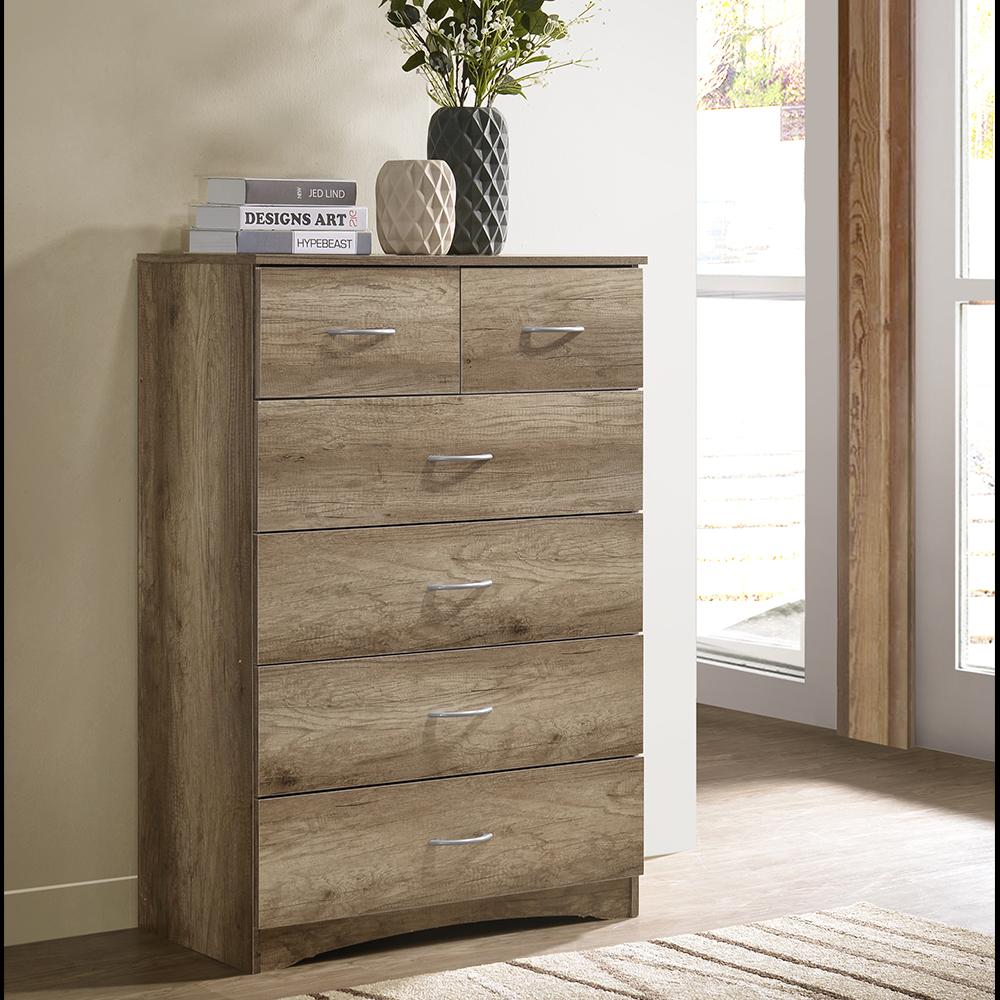 SO ECO 6 DRAWER CHEST / DRESSING CHEST / STORAGE CABINET