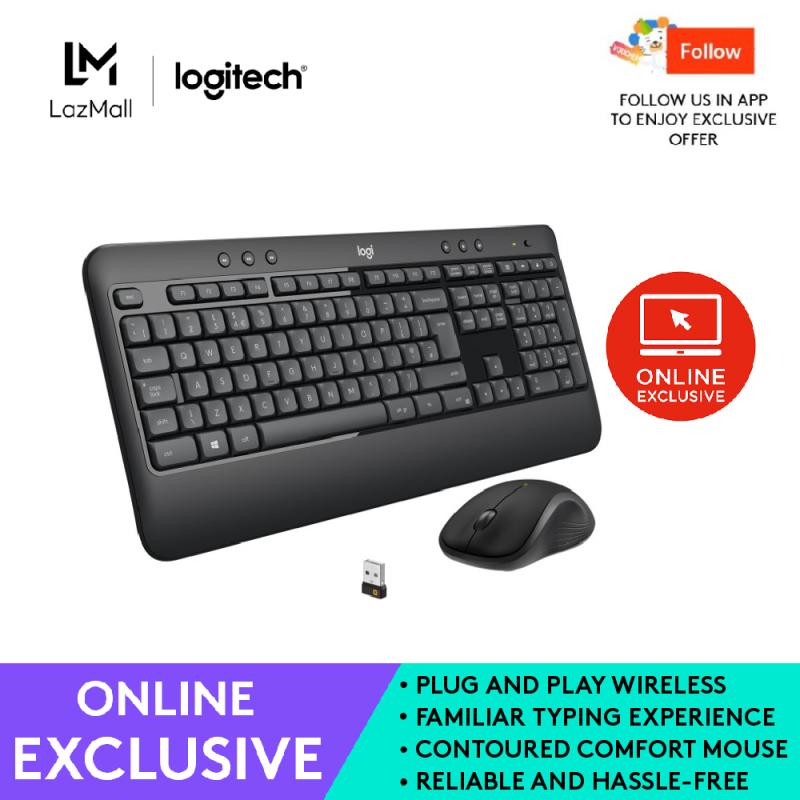 Logitech MK540 Advanced Wireless Keyboard and Mouse Singapore