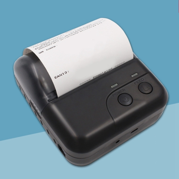 Bảng giá Thermal Receipt Printer Bluetooth Printer Handheld Printer 80mm Label or Barcode Printer for Android and IOS Phong Vũ