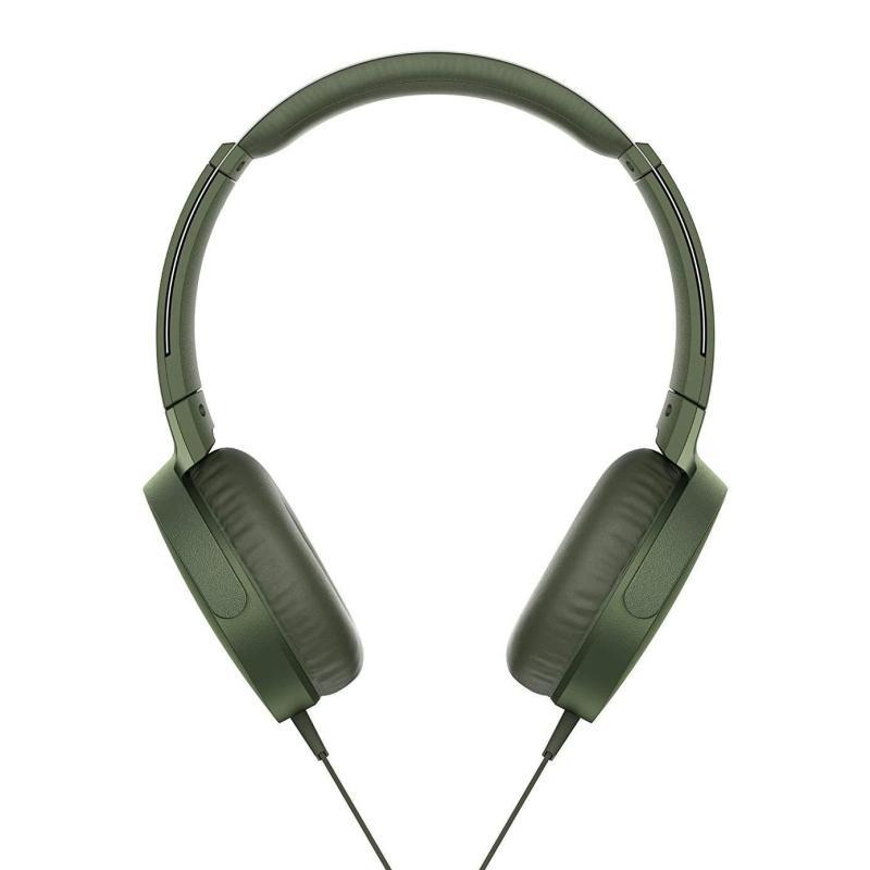 Sony MDR-XB550AP Extrabass Headphones - Green Singapore