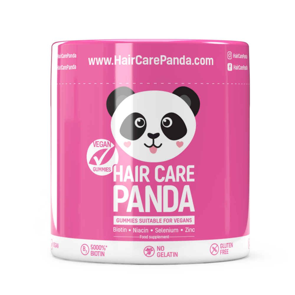 Buy Hair Care Panda Vitamins For Hair Growth Healthy Beautiful Hair 60 Vegan Gummies Singapore