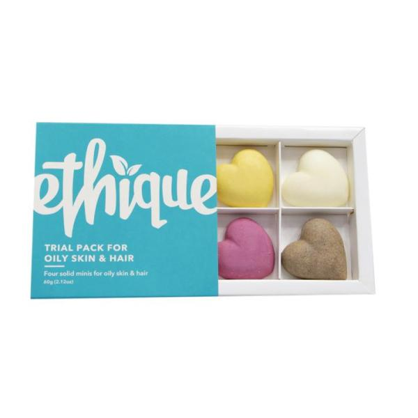 Buy Ethique Trial Pack For Oily Skin & Hair Types 60g Singapore