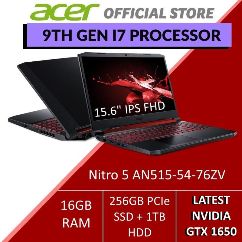 Acer Nitro 5 AN515-54-76ZV with The Latest 9th Gen i7 Intel Processor and GTX 1650 Graphics