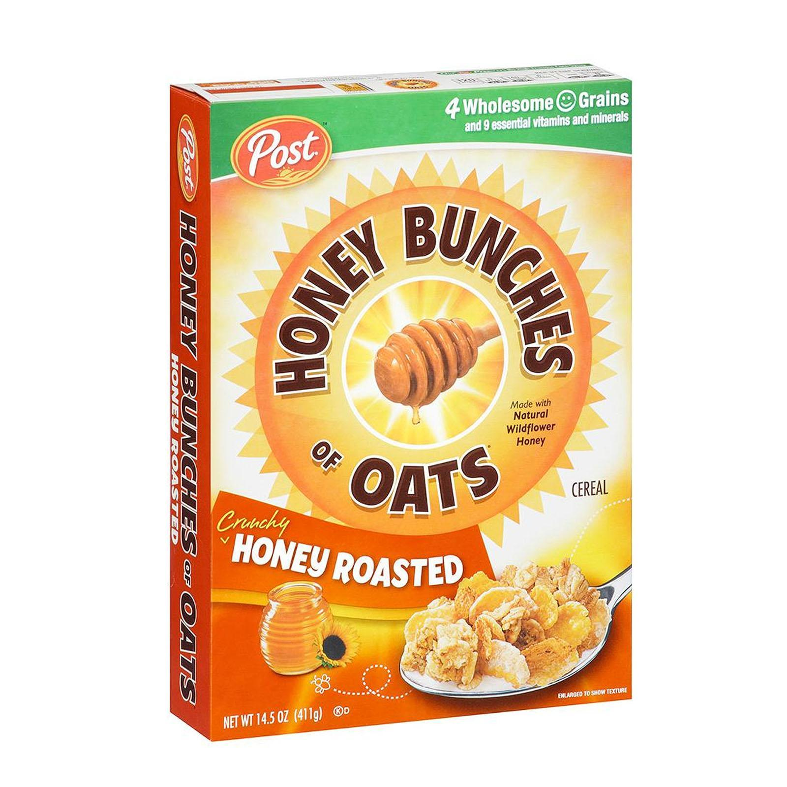 Post Honey Bunches of Oats Honey Roasted Whole Grain Cereal