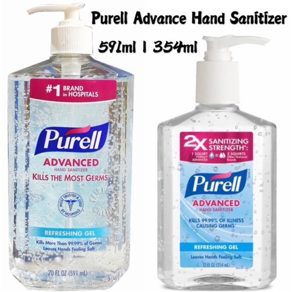 Buy Purell Advance Hand Sanitizer 354ml / 591ml ➰ No1 Brand Hospital Grade Imported from USA Singapore