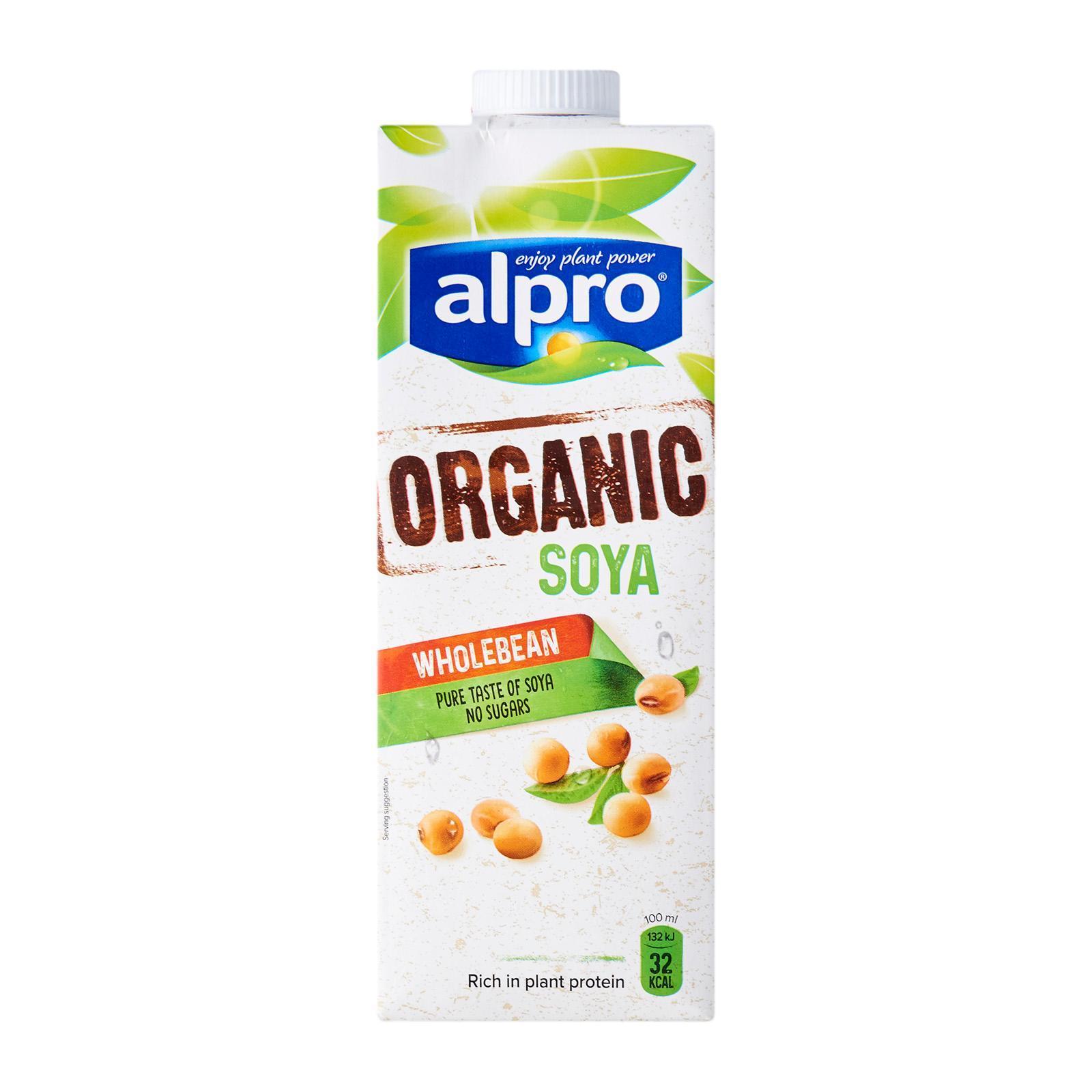 Alpro Organic Unsweetened Soya Milk
