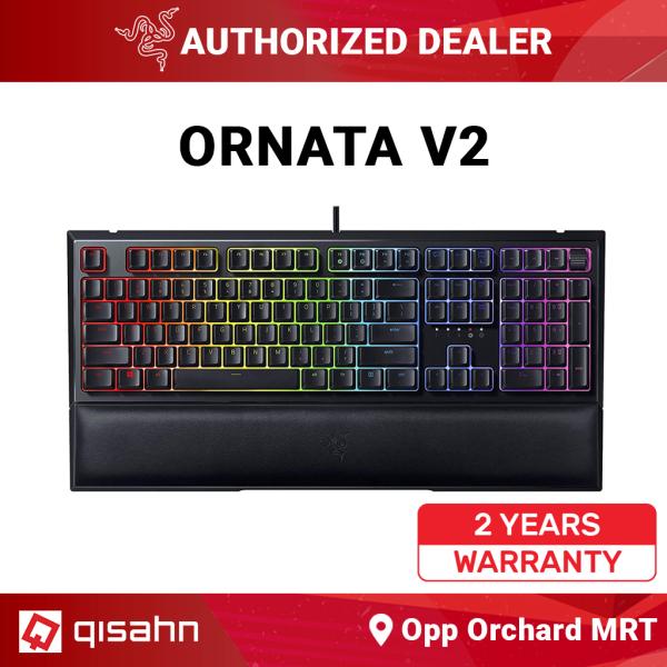 Razer Ornata V2 Mecha-Membrane Gaming Keyboard Singapore