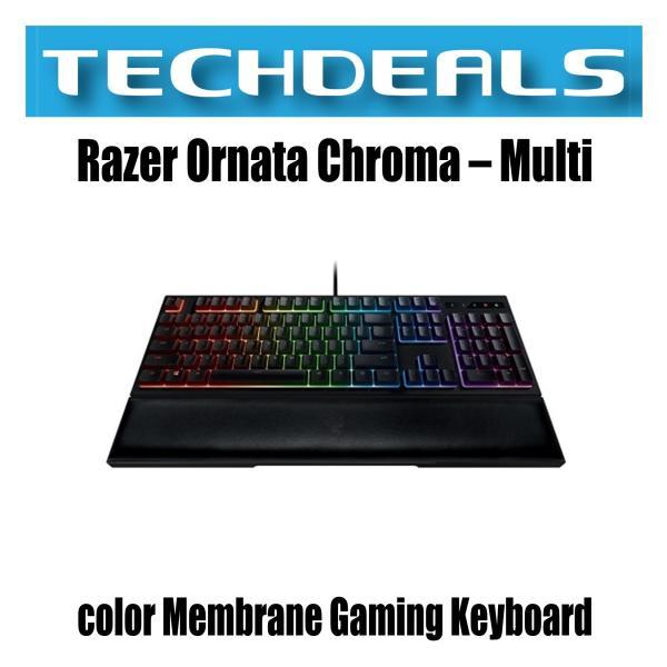 Razer Ornata Chroma – Multi-color Membrane Gaming Keyboard Singapore