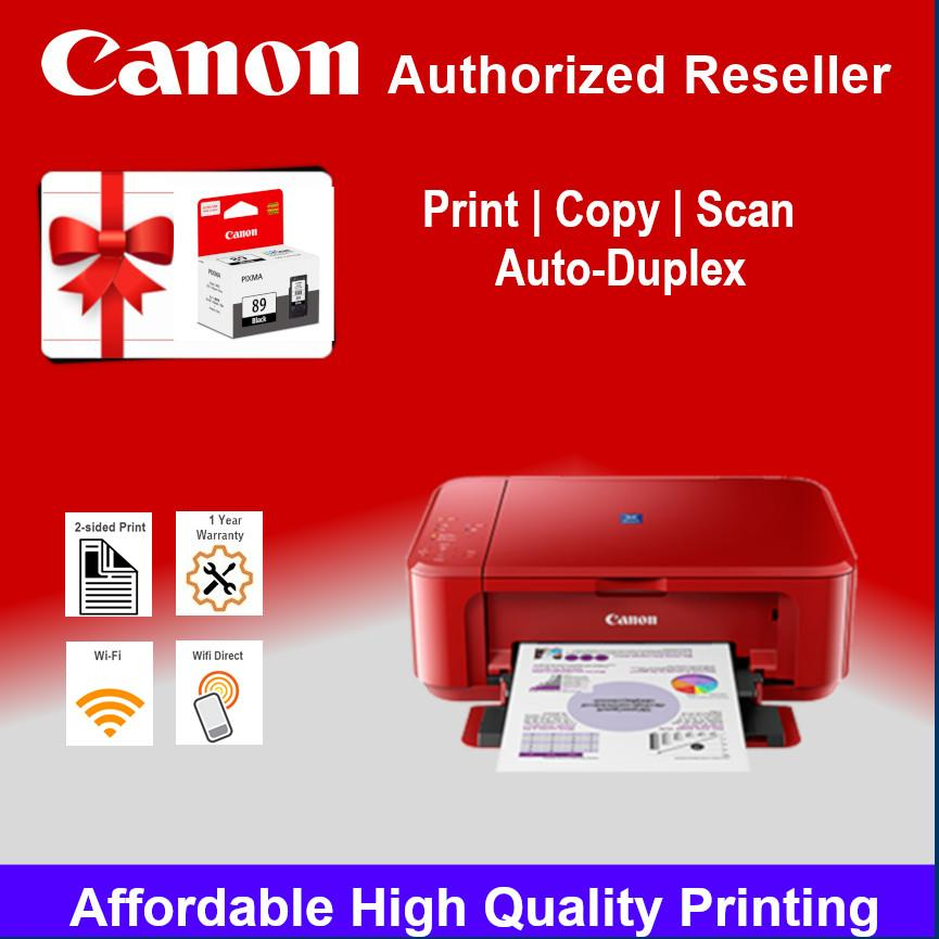 [Local Warranty] Canon PIXMA E560 / E560R Advanced Wireless All-In-One with  Auto Duplex Printing E-560R E-560 e 560 Singapore