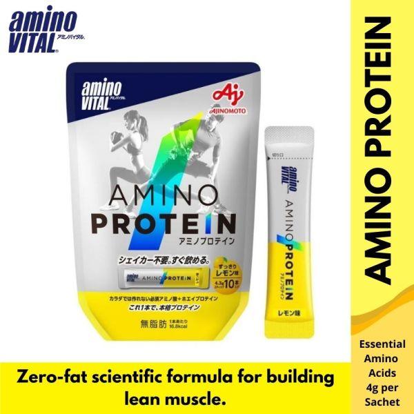 Buy Ajinomoto aminoVITALAmino Protein (10 Sachets) Singapore