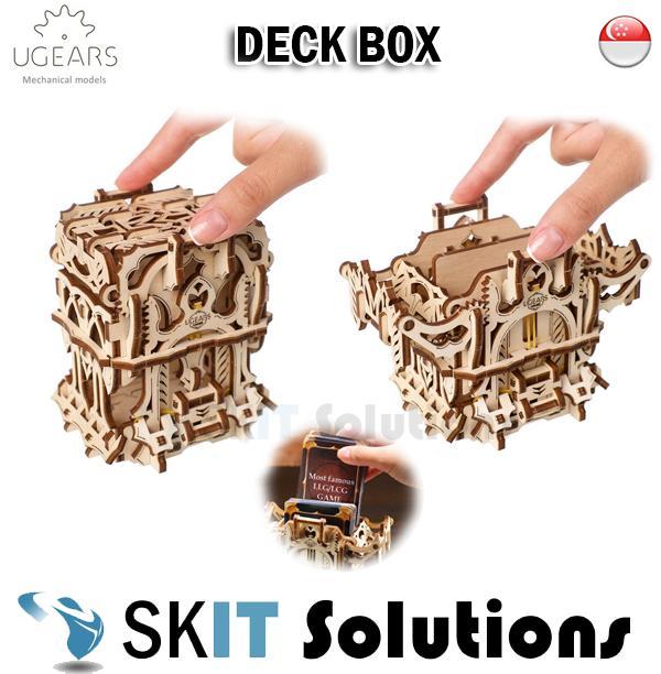 Ugears Deck Box Diy Wooden Building Mechanical Model Gift Kit