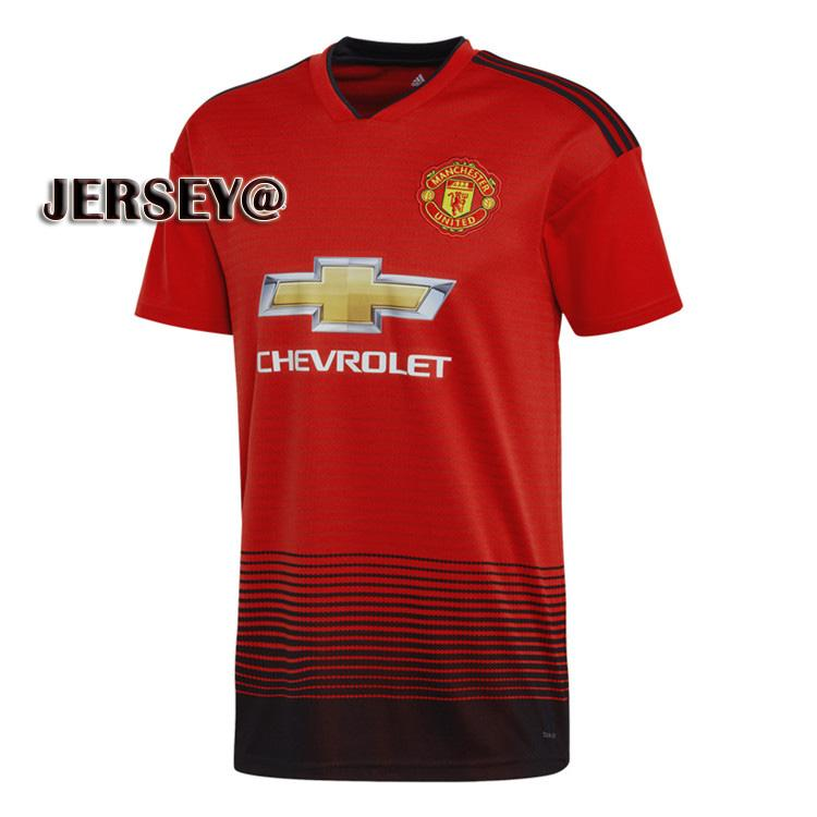 45d10b832 2019 New Season 2018 2019 Top Quality Manchester United Home And Away  Football Jersey for