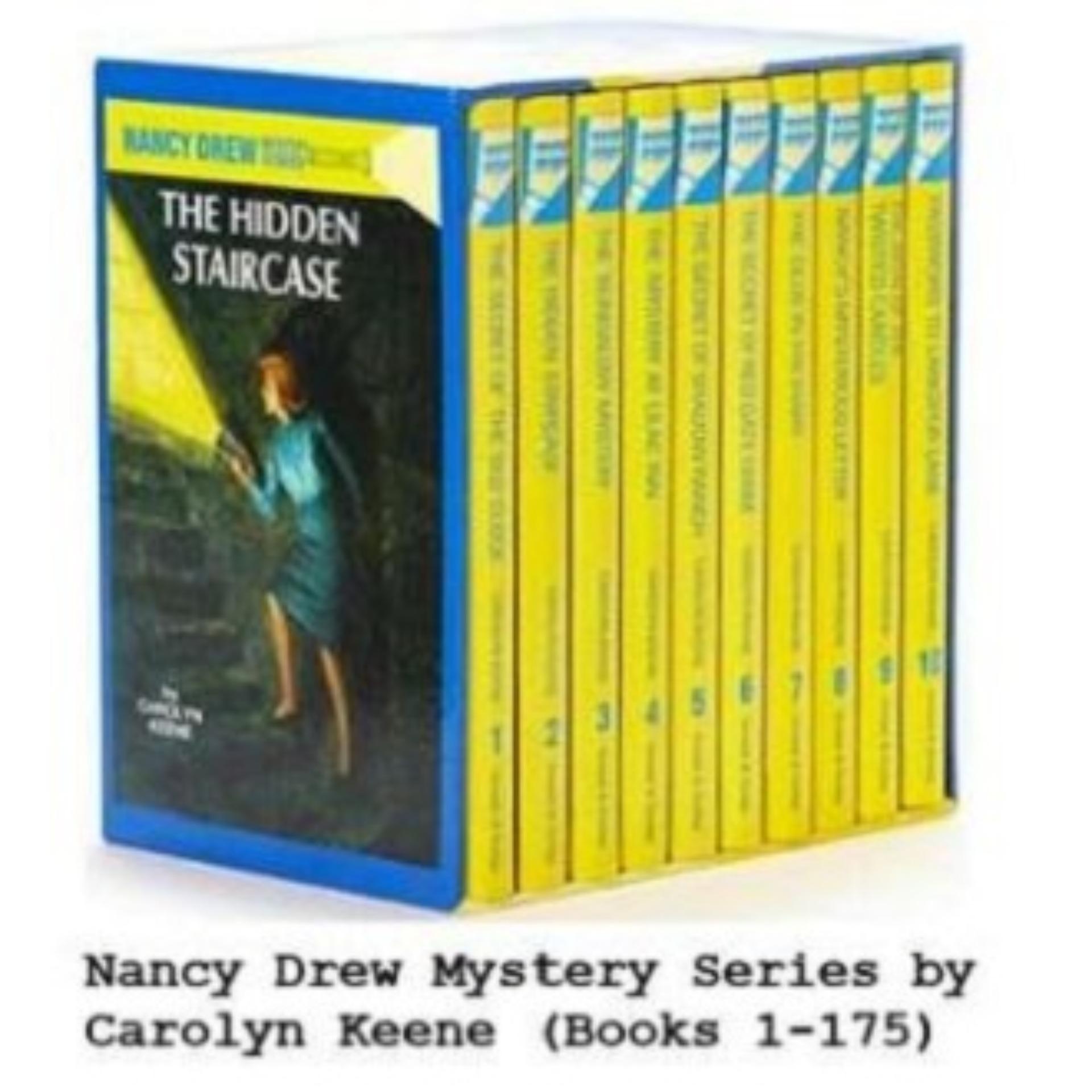 Nancy Drew Mystery Series 1-175 by Carolyn Keene eBooks (epub)