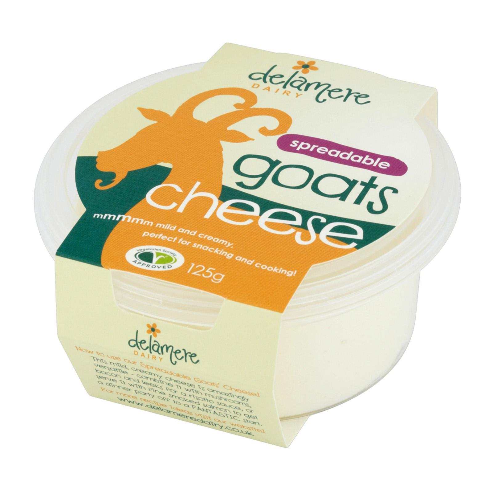 Delamere Dairy Spreadable Goats Cheese Spread