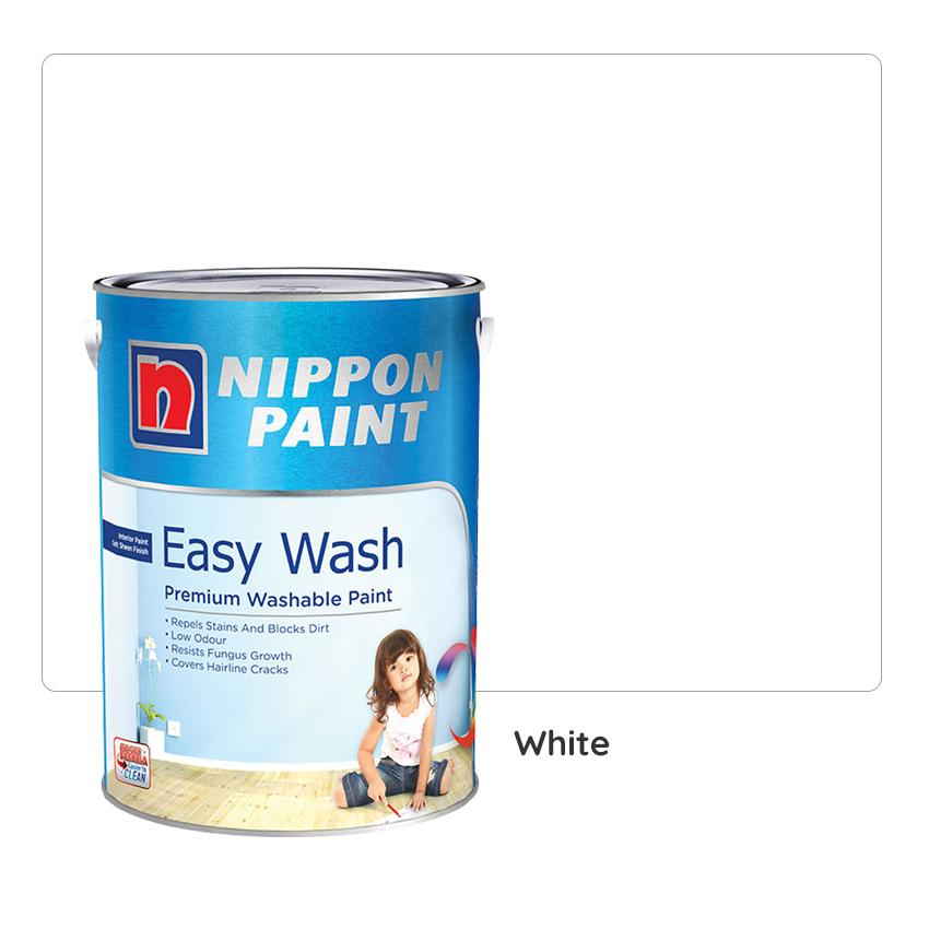 Nippon Paint Easy Wash with White 1L