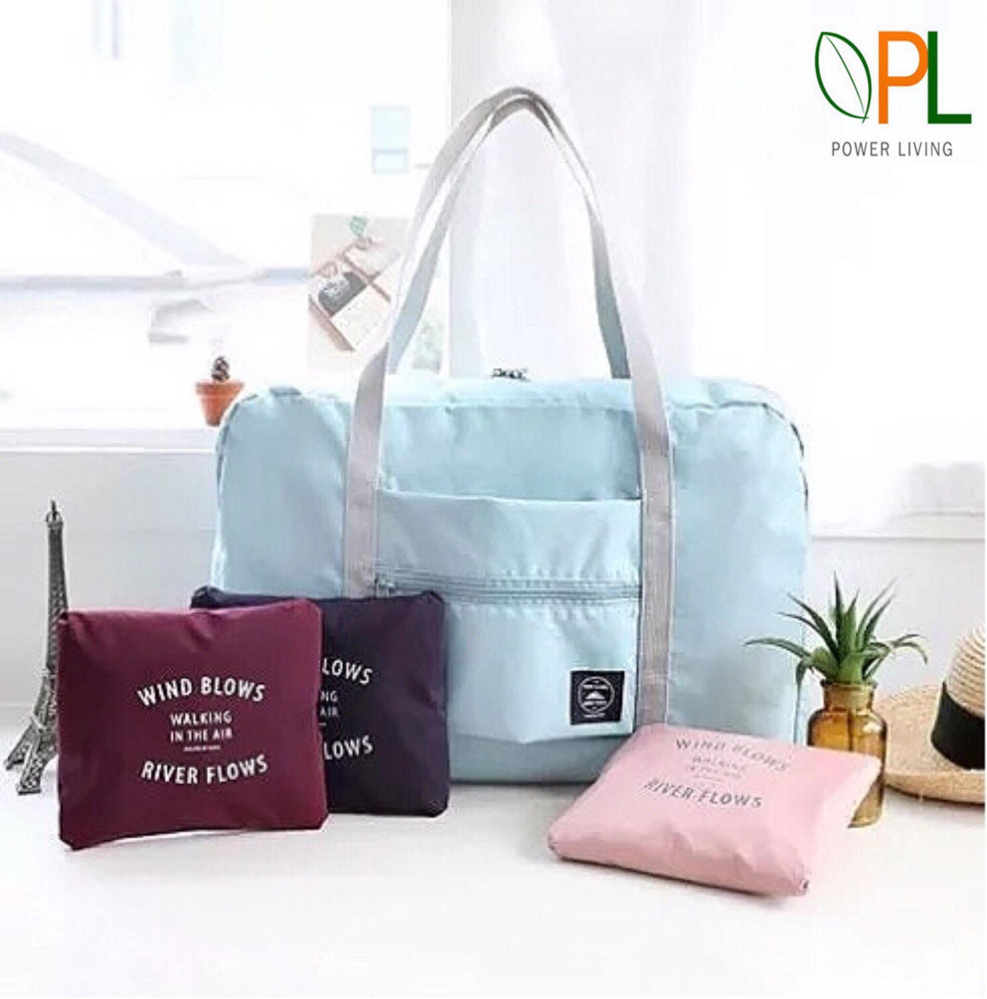 Foldable Travel Bag Travel Bag Luggage Bag Waterproof Travel Bag Clothes Package Nylon Big Capacity Foldable Wash Bag Makeup Outdoor Hanging Unisex Storage Bag Duffle Bag- Type D.