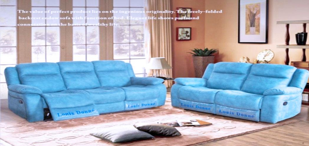 Gemini Fabric 3 Seaters Sofa SFF222