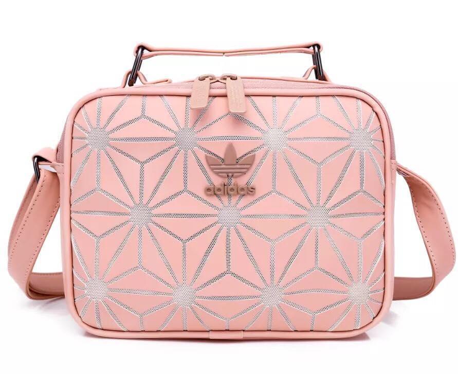b79584d3a29c Adidas Issey Miyake New 3D Diamond Pattern Sling Bag Shoulder Bag