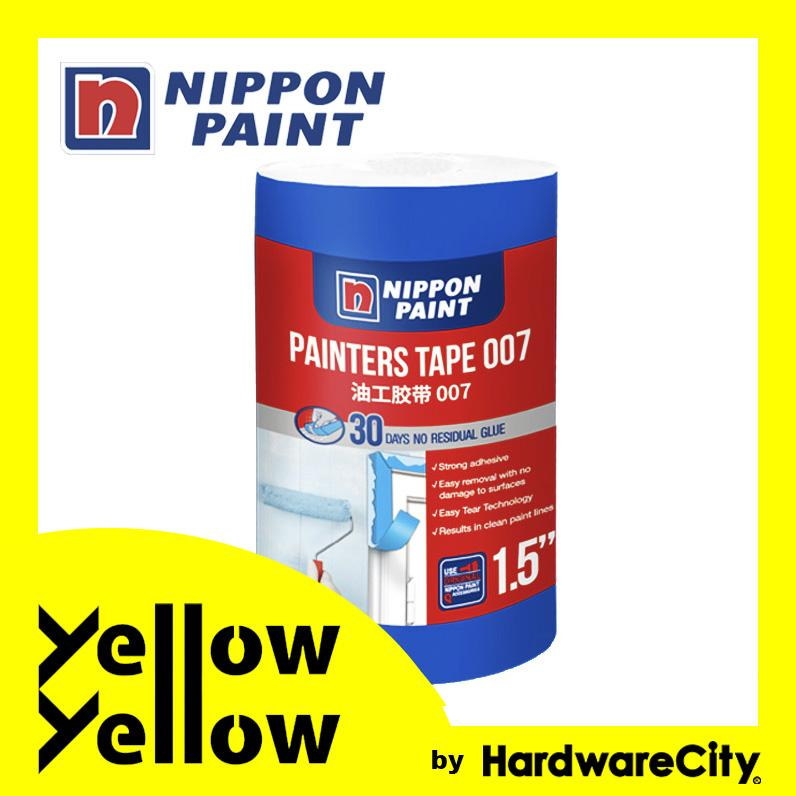 Nippon Paint Painters Tape 007 (1in/1.5in) PAINTERS TAPE