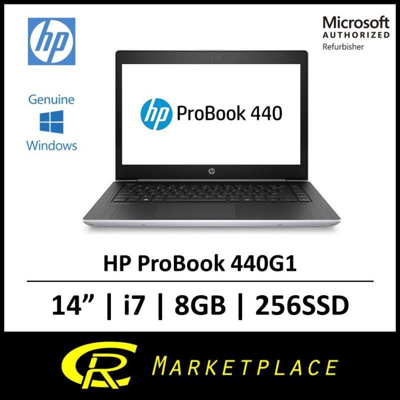 [Microsoft Certified Refurbisher] HP ProBook 440G Intel i7 8GB RAM 256 Solid State Drive