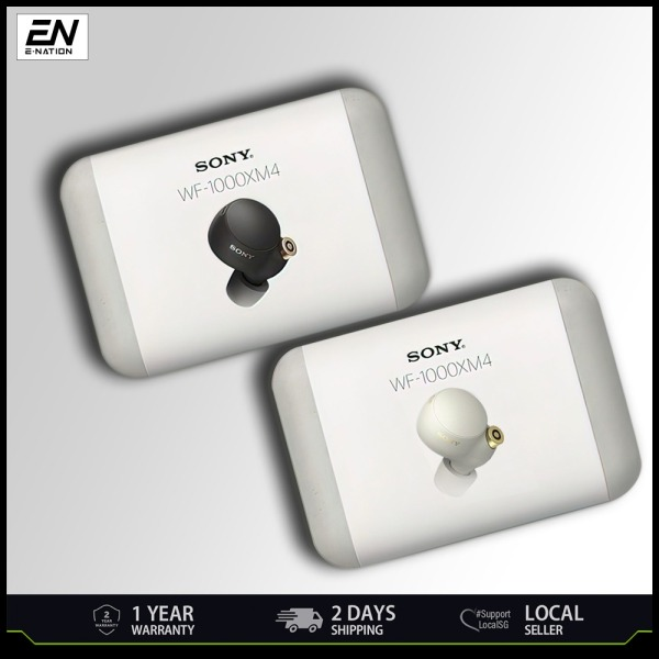 SONY WF1000XM4 WF-1000XM4 Noise Cancelling Truly Wireless Earbuds with 1 Year Local Warranty [SHIP OUT WITHIN 24 HOURS] Singapore