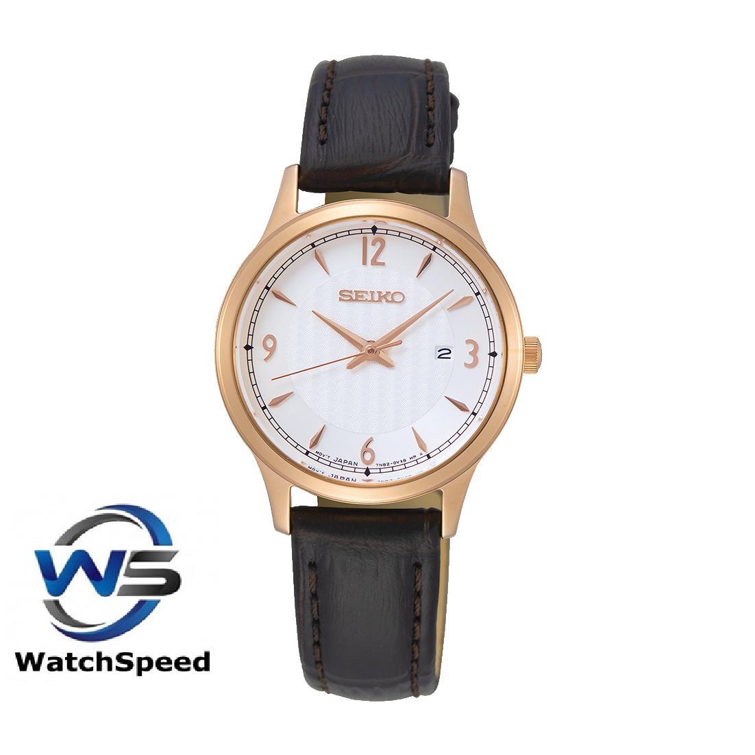 Seiko SXDG98P1 SXDG98P SXDG98 Classic Quartz White Dial 100M Ladies / Womens Watch