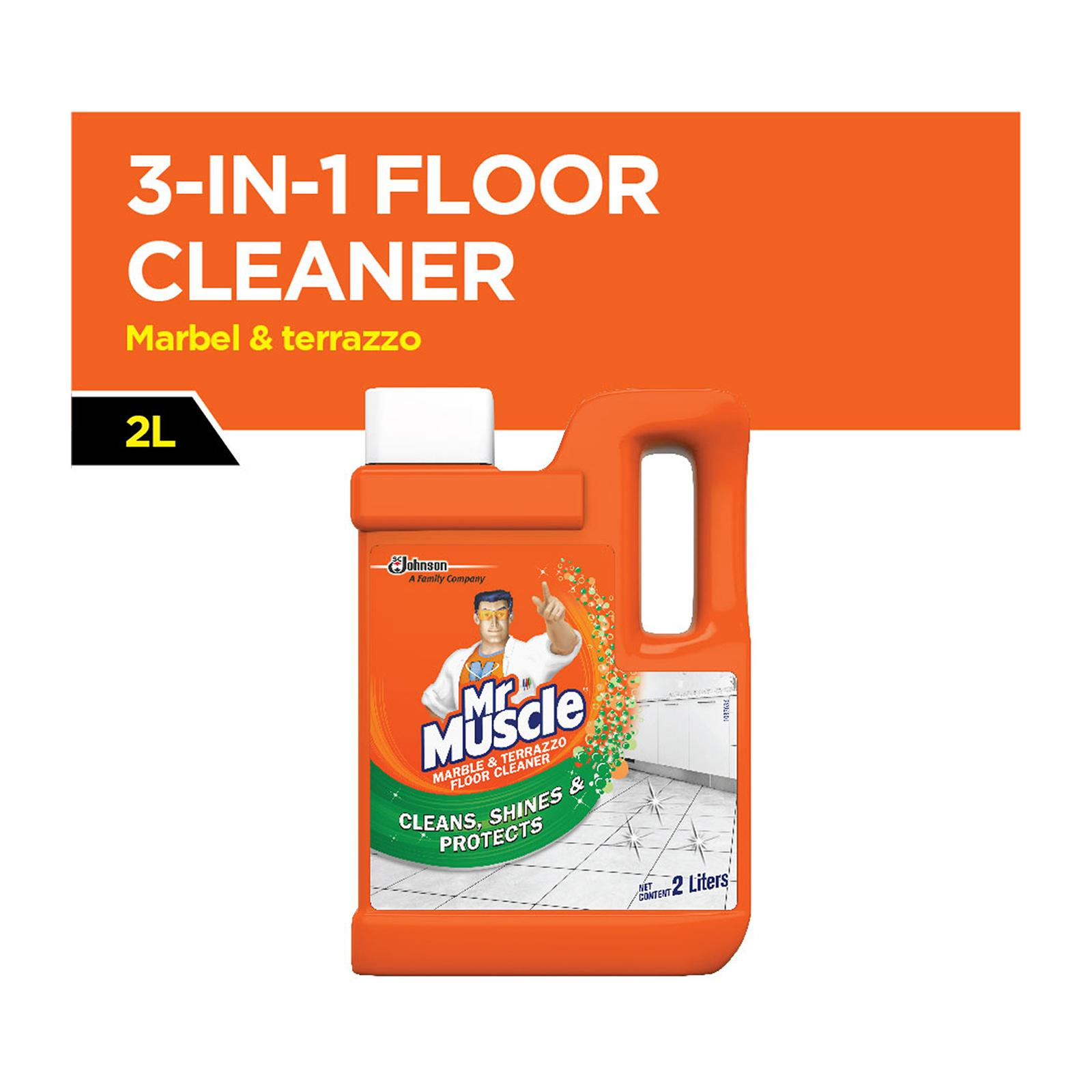 Mr Muscle Marble and Terrazzo 3 in 1 Floor Cleaner