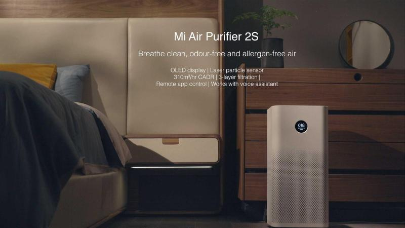 Xiaomi Air Purifier 2s / Pro For Better Air Quality And Healthier Lifestyle At Home Or Office Workplace Singapore