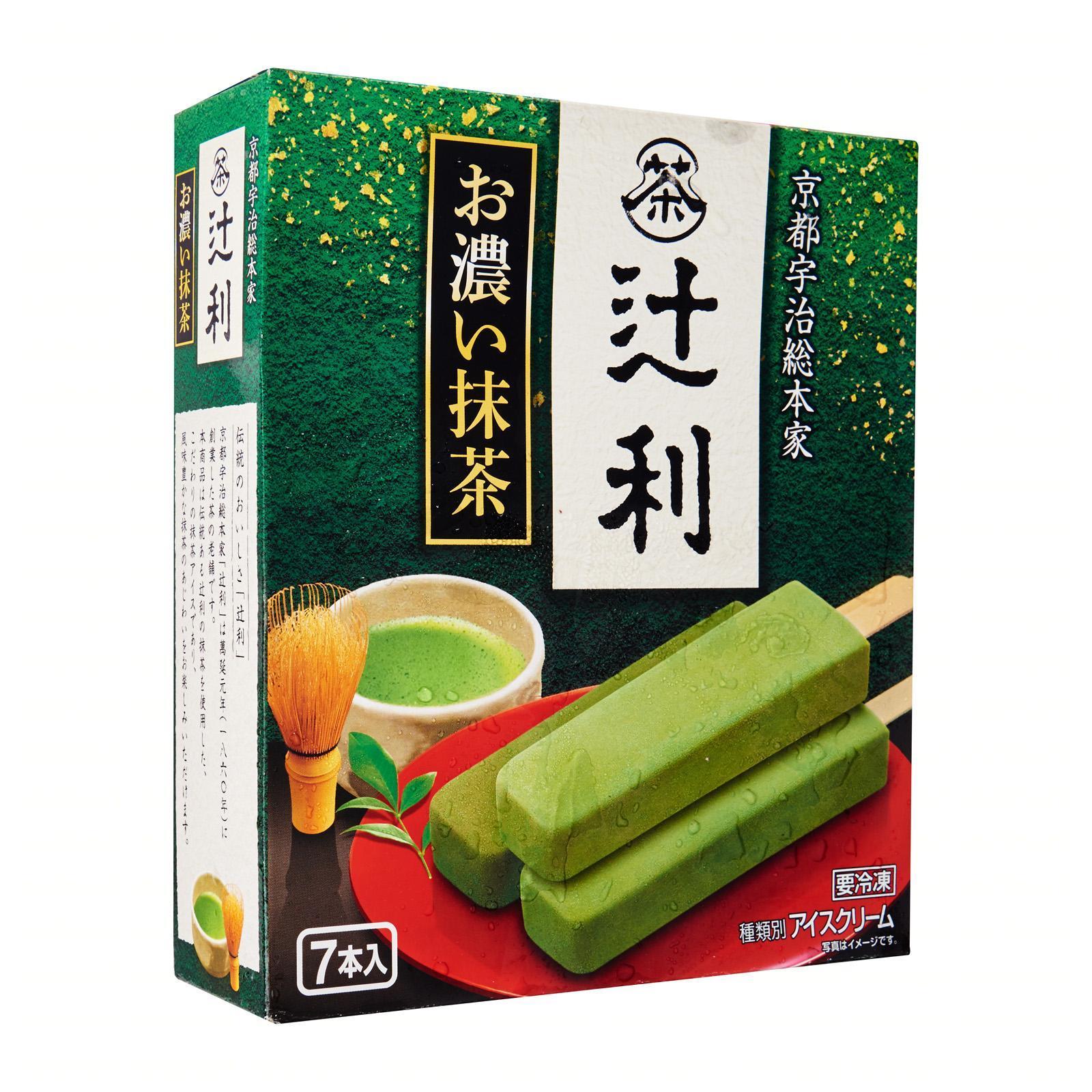 Meiji Tsujiri Matcha Green Tea Ice Bar - Frozen