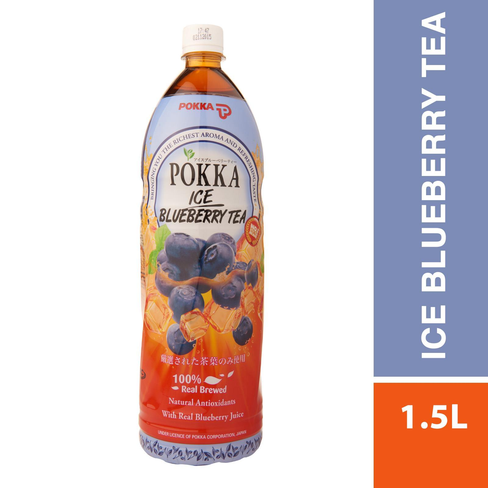 Pokka Bottle Drink - Blueberry Tea