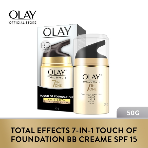 Buy Olay Total Effects 7-in-1 Touch Of Foundation BB Creame SPF 15 50g Singapore