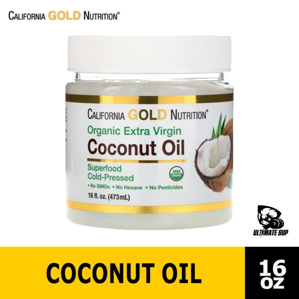 Buy California Gold Nutrition   Cold-Pressed Organic Virgin Coconut Oil   16 fl oz - Ultimate Sup Singapore