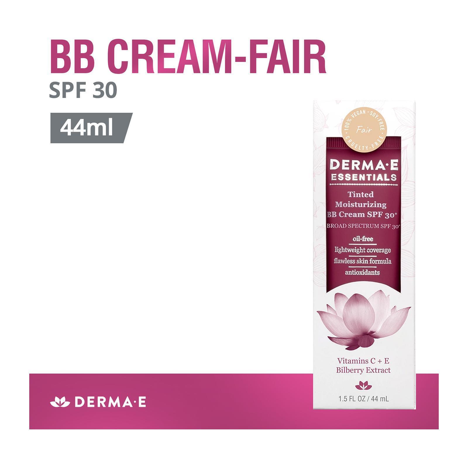 Derma E Fair-Tinted Moisturizing BB Cream SPF 30+