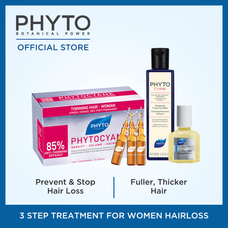 Buy Phytocyane Women Hair Loss Treatment Regime Singapore