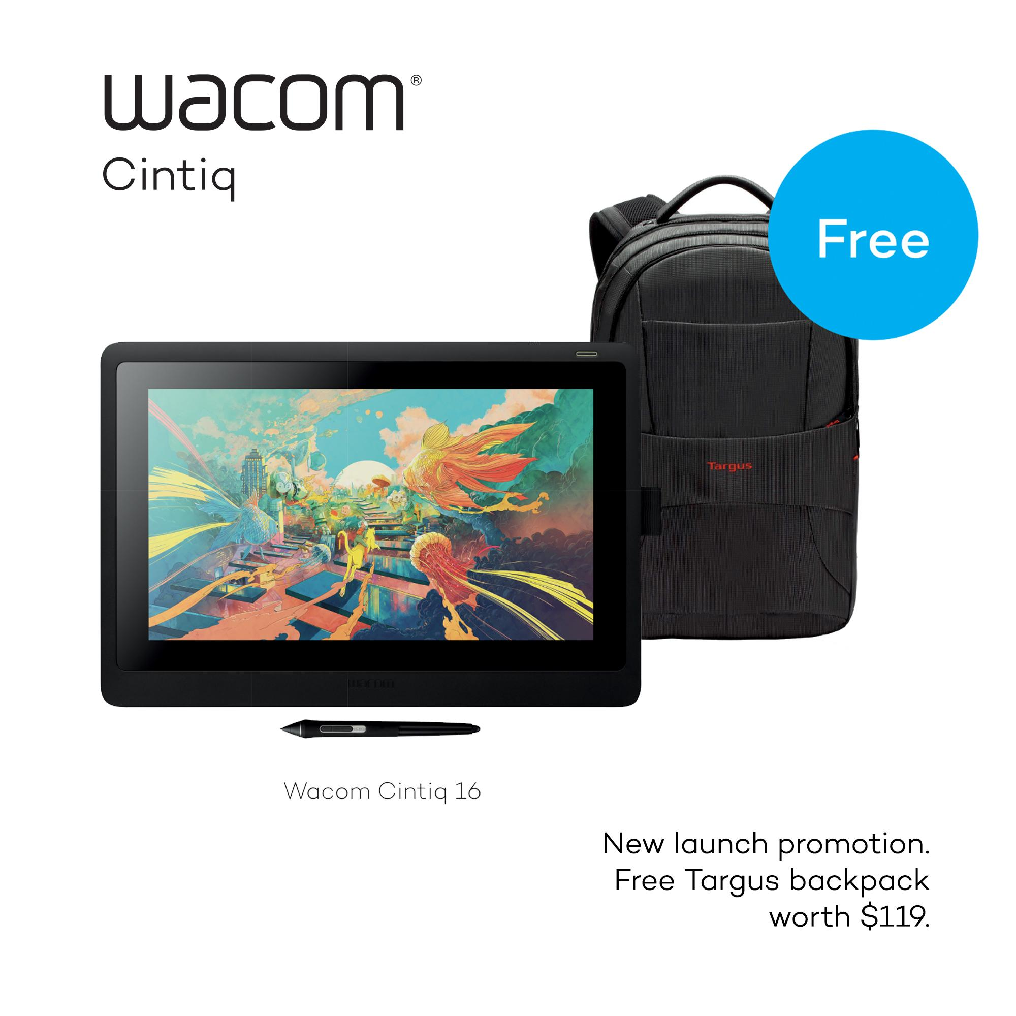 (NEW MODEL) Wacom Cintiq 16